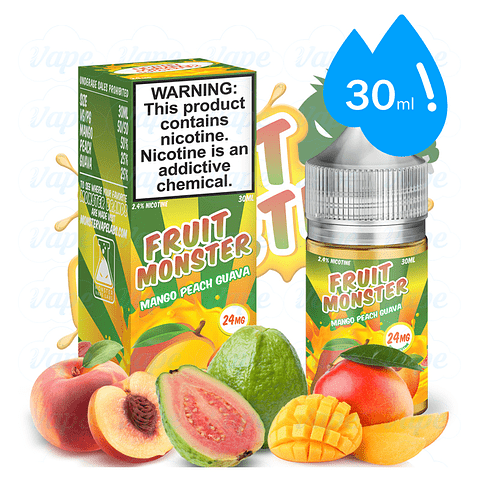 Fruit Monster Mango Peach Guava 30ml