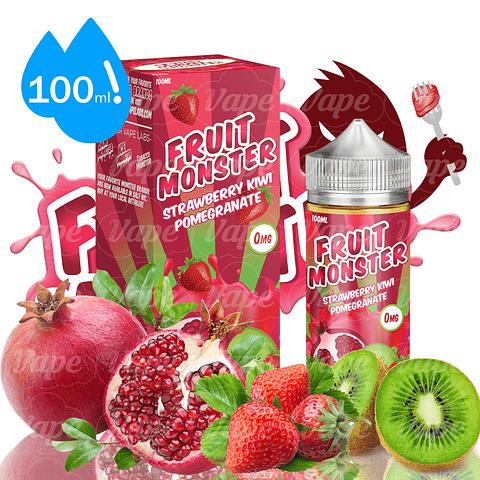 Fruit Monster 100ml - Strawberry Kiwi Pomegranate