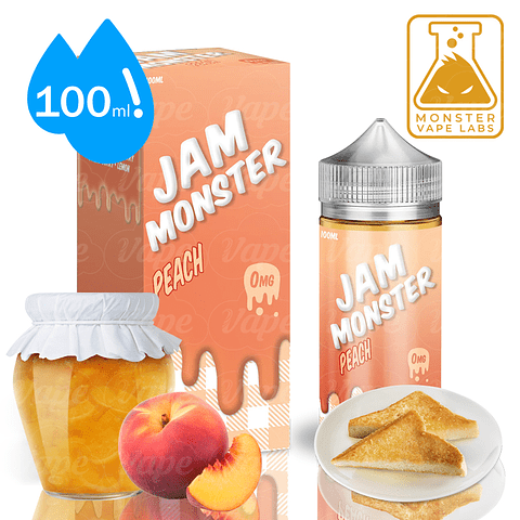 Jam Monster - Peach Regular 100ml