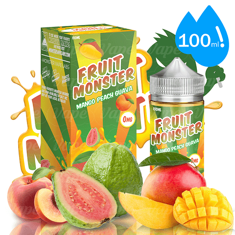 Fruit Monster - Mango Peach Guava 100ml Regular