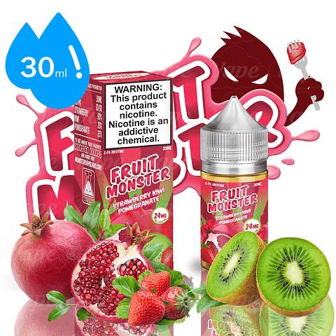 Fruit Monster Salt - Strawberry Kiwi Pomegranate 30ml