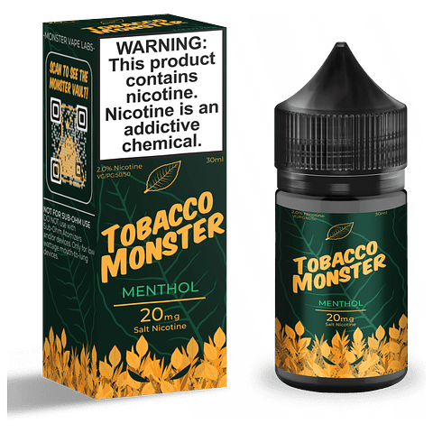 Tobacco Monster Salt - Menthol 30ml