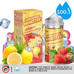 Lemonade Monster - Strawberry 100ml