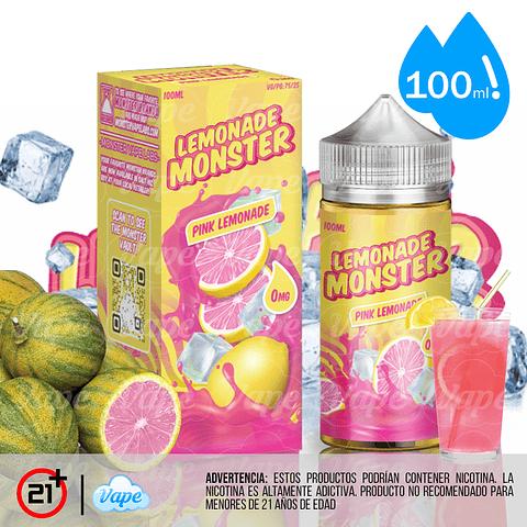 Lemonade Monster - Pink 100ml