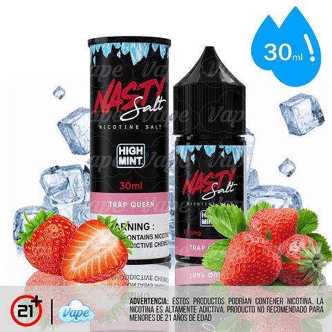 Nasty Juice High Mint Salt - Trap Queen 30ml