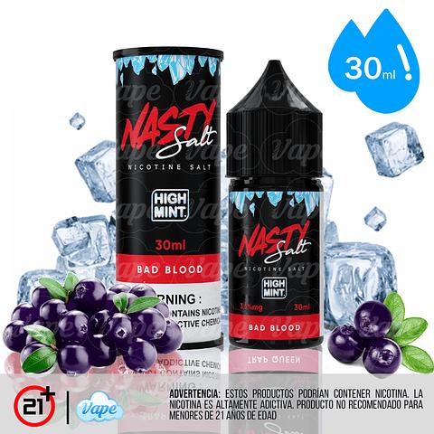 Nasty Juice High Mint Salt - Bad Blood 30ml