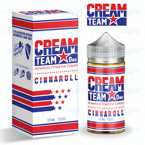 Cream Team Cinnaroll 100ml Regular