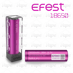 Bateria Efest 18650 - 35A (3000mAh)