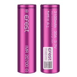 Bateria Efest 20700 30A 3100mAh