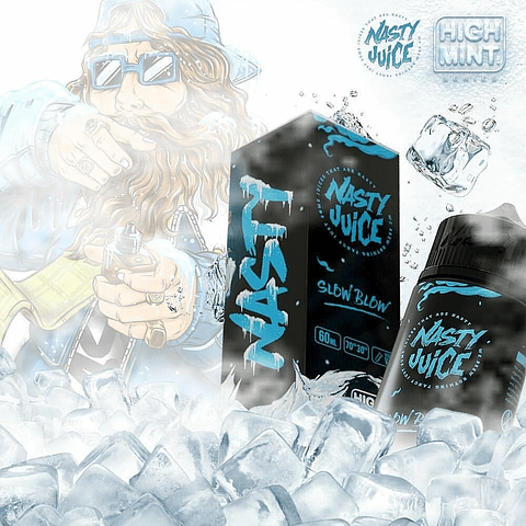 Nasty Juice High Mint - Slow Blow 60ml Regular