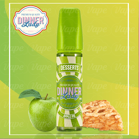 Dinner Lady - Apple Pie 60ml Regular