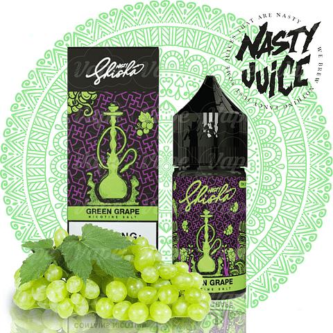 Nasty Shisha Salt - Green Grape 30ml