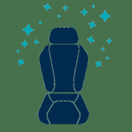 Limpieza asientos de cuero