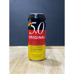 5.0 ORIGINAL CRAFT BEER 500CC