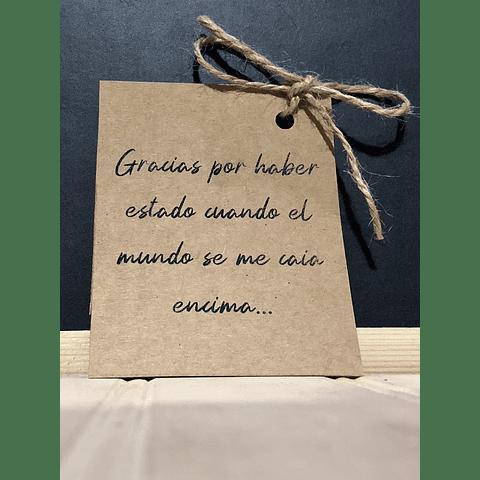 GRACIAS POR HABER ESTADO CUANDO EL MUNDO SE ME CAÍA ENCIMA...