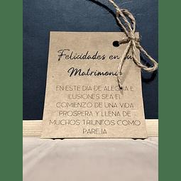 FELICIDADES EN SU MATRIMONIO...