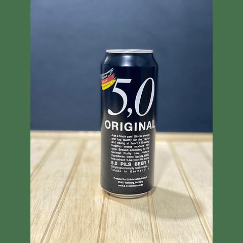 CAJA ORIGINAL 5,0 PILS - 24 LATAS DE 500CC