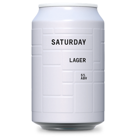 AND UNION SATURDAY -  LAGER 330CC