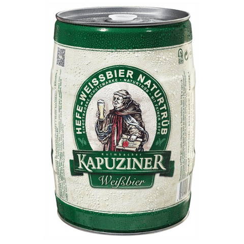 KAPUZINER WEISSBIER BARRIL 5 LITROS