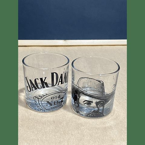 2 VASOS WHISKY JACK DANIELS