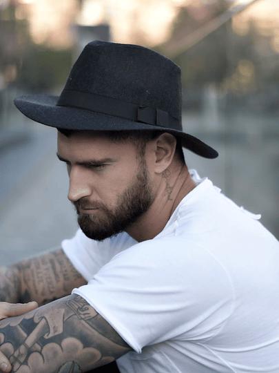 Sombrero Paris Gris Carbon