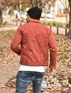 Chaqueta Jeans Terracota