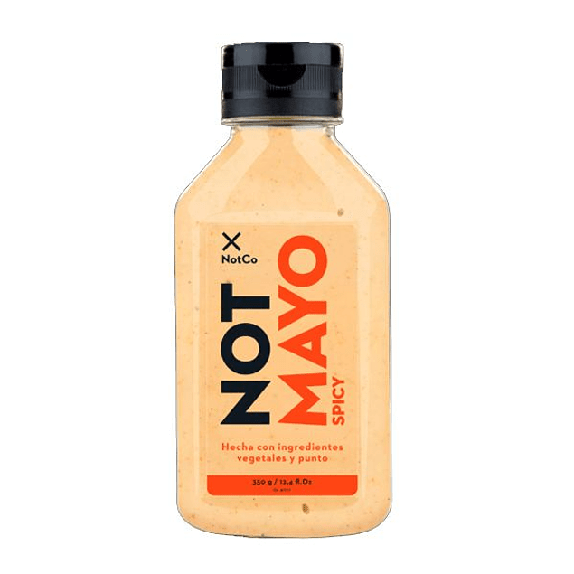 Mayonesa Not Mayo Spicy - Not Co (330gr)