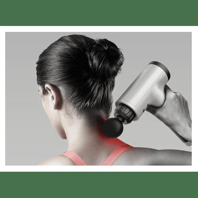 Pistola Masaje Muscular + 4 Accesorios