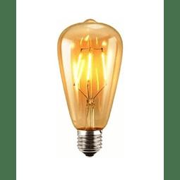Ampolleta Led Tipo Edison 4 Watts Retro Vintage Color Oro