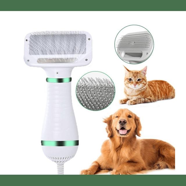 Secador De Pelo Y Peine 2 En Uno para perros y gatos