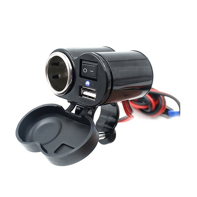Cargador Usb Moto Encendedor 12v Usb 5v Incluye Encendedor