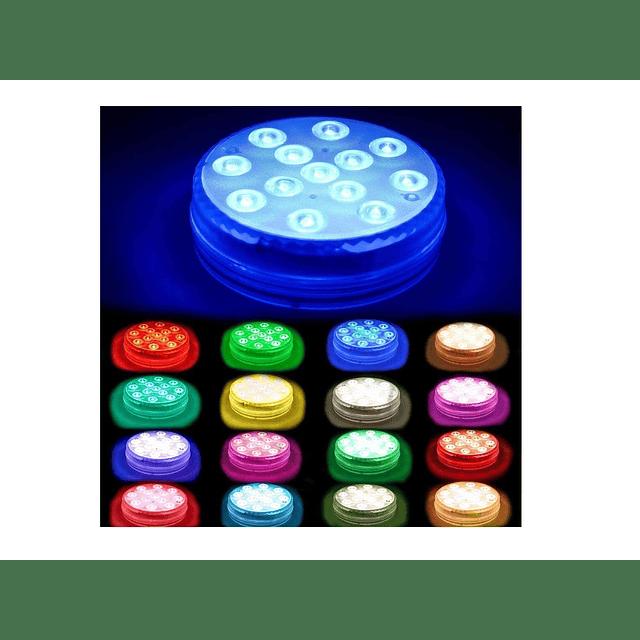 Luz Led Multicolor Sumergible