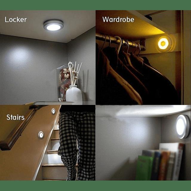 Luz Led Con Sensor Movimiento