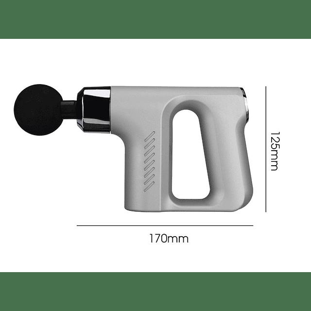 Pistola Masaje De Terapia 8000r/min 5 Velocidades