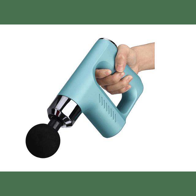 Pistola Masaje De Terapia 8000r/min 5 Velocidades/ ROJO