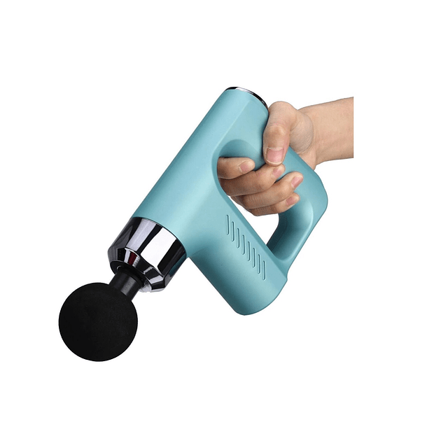 Pistola Masaje De Terapia 8000r/min 5 Velocidades/ TURQUESA