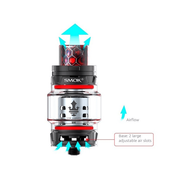 Vaporizador Electronico Vape Smok Stick Prince/ Cromado