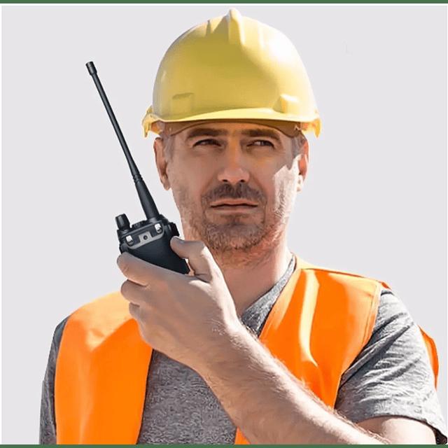 Radio Vhf Uhf Dual Band Uv-5r Walkie Talkie Con Manos Libre