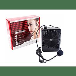 Amplificador Voz Micrófono Fm Usb Mp3 Auricular Conferencia