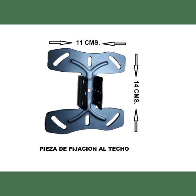 Soporte Techo Cielo Tv Lcd Led 37 / 55 Pulgadas Hasta 50 Kg
