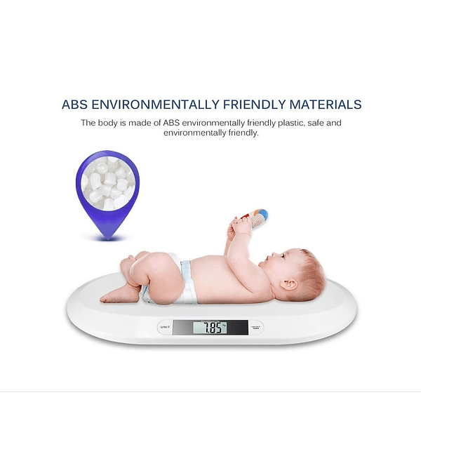 Pesa Balanza Digital Bebes / Multiuso Hasta 20 Kg