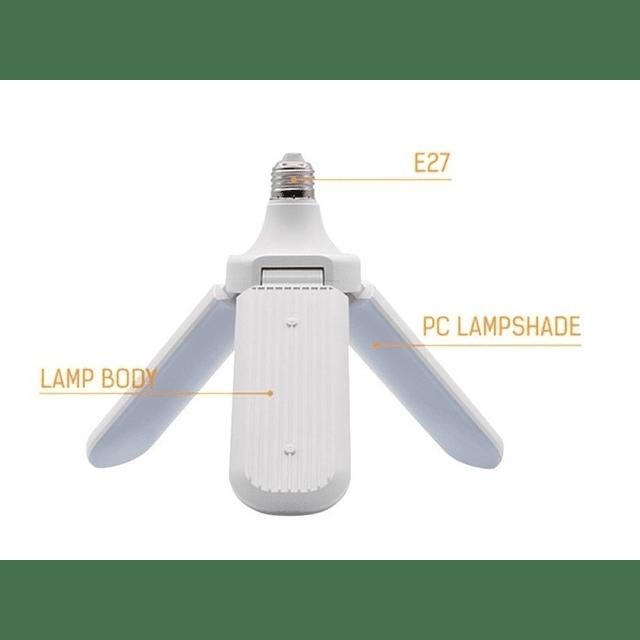 Ampolleta Led 45w Angulo Ajustable Gran Iluminacion / 3 Uni