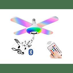Ampolleta Parlante Led Colores Con Control Y Bluetooth