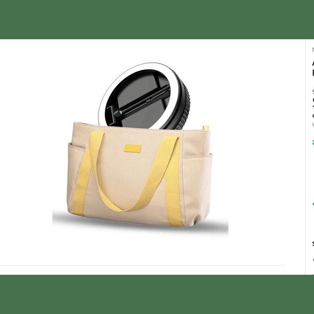 Aro Led Selfie Transportable Retractil / 24w Potencia