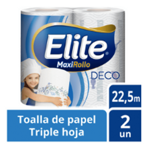 Toalla papel Elite Deco triple hoja (2)