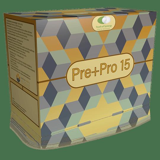 Pre + Pro 15 Probioticos