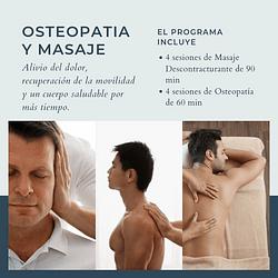 Pack Masaje y Osteopatia.