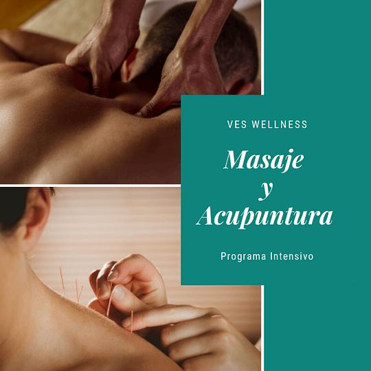 Programa masaje y acupuntura
