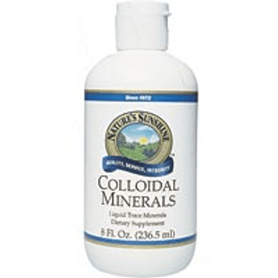 COLLOIDAL MINERALS  (Minerales coloidales)