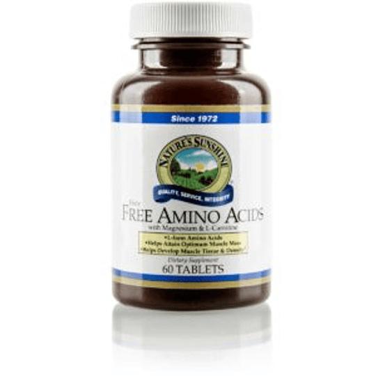 FREE AMINO ACIDS (Con magnesio y l-carnitina)